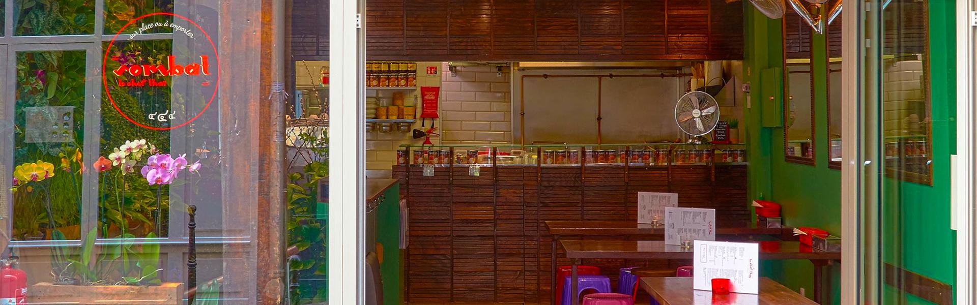 Restaurant Thai Livraison Paris